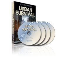 Urban Survival Training Course 4 Disk DVD